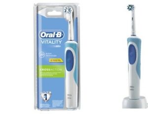 Braun Oral-B Vitality CrossAction Rechargeable Electric Toothbrush  with Timer