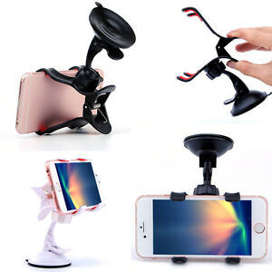 For-Mobile-Phone-GPS-Vogue-Car-Universal-Windscreen-Suction-Mount-Holder-Stand