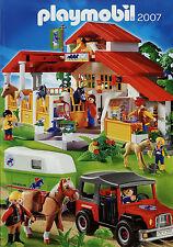 Prospekt Playmobil 2007 Spielzeugkatalog Katalog Spielzeuge catalog toys jouets