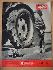 FREIE WELT 13 28.3. 1963 Streiks in Frankreich Jugendliche und Alkohol Prag