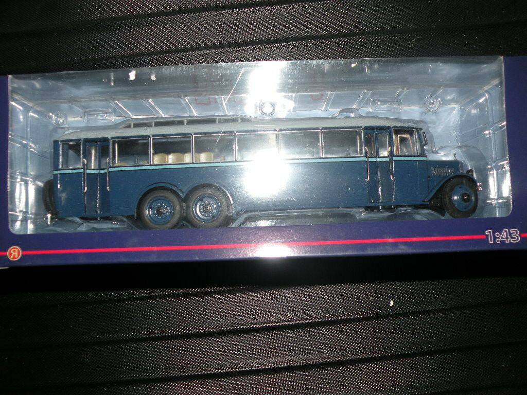 Ultra - modelle 1   43 moscow city - bus vor dem krieg yaa - 2 riesen - gigant brandneu