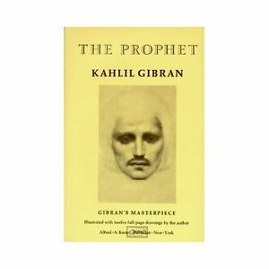 The Prophet By Kahlil Gibran 1923 Hardcover