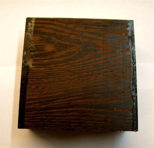 Schnitzholz 135 Klotz Wenge 10x10x5cm Panga Panga Drechselholz