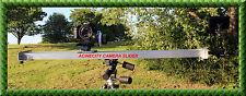 Camera Slider 1 Meter Long for CANON NIKON SONY JVC PANASONIC BMCC 4k etc UK****