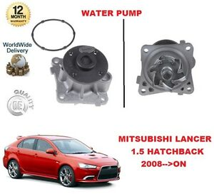 FOR MITSUBISHI LANCER 1.5 109 BHP HATCHBACK MODEL 2008->ON BRAND NEW WATER PUMP