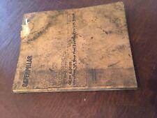 CATERPILLAR CAT GC25 GC20 LIFT TRUCKS  FORKLIFT PARTS MANUAL BOOK EM 5 4