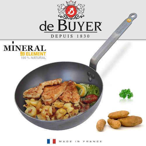 De Buyer-Minérale B Elément round landpfanne 28 CM