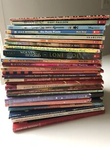Lot-of-25-Children-s-Chapter-Books-ages-8-12-Scholastic-some-vintage-more