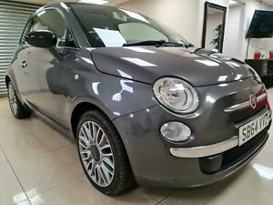 Fiat-500-1-2-Cult-Grey-Hatchback-Leather-30-Tax-65MPG-WARRANTY-12-MONTHS-MOT