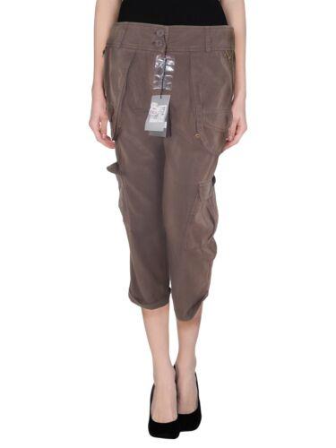 Donna Ekle Capri 28 Taglia Italy It Marrone Pantalone 42 Made W pnnraEx