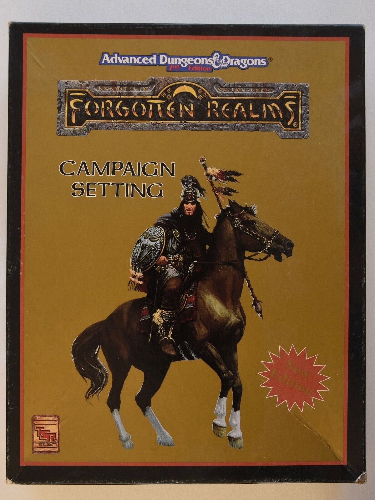 AD &D - CAMPAIGN SETTING - Forget Realms låda Set - Dungeons and drakes - 2 ed
