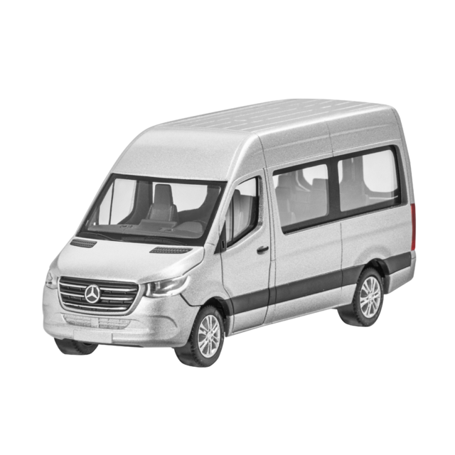 Mercedes Benz W 907/910 Sprinter Familiar Bus 9-sitzer 2018 Plata 1:87