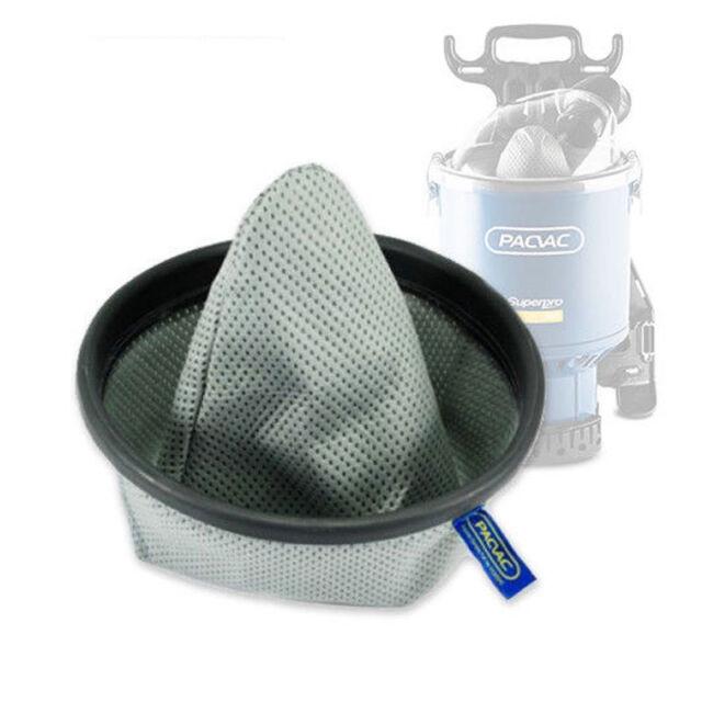 Pacvac original Reusable Dust Cloth Bags fit Superpro 700, Duo, Trans, Wispa 700