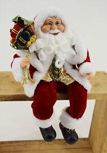 deko weihnachtsmann 100 cm