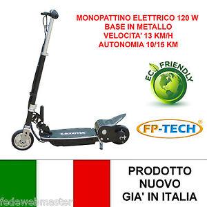 MONOPATTINO-ELETTRICO-24-V-120W-BASE-METALLICA-E-SCOOTER-BICICLETTA-ELETTRICA