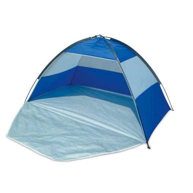 Beach Summer UV Sun Shelter UPF40 Outdoor Camping Fishing Festival Blue Tent