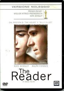THE READER - A VOCE ALTA (2008) Kate Winslet - Ralph Fiennes DVD EX NOLEGGIO 01