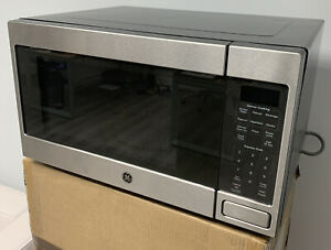 GE JES1657SMSS 1.6 Cu. Ft. Stainless Steel Countertop Microwave Stainless Steel