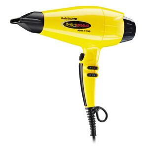 BaBylissPro-ITALIABRAVA-1875-W-Yellow-Ionic-amp-Nano-Titanium-Hair-Dryer-BABFB1C