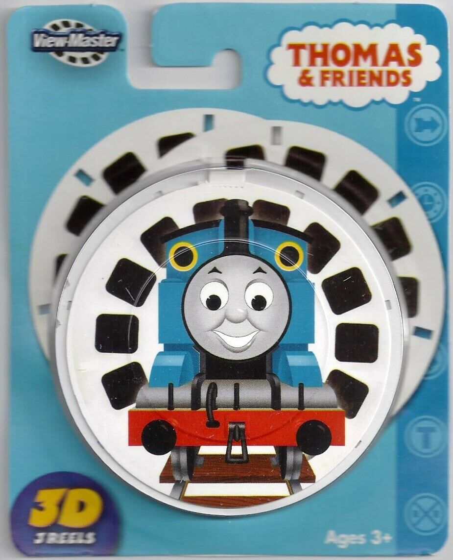 NEW  THOMAS THE TANK & FRIENDS  3D VIEW-MASTER REELS  3pk