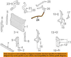 bmw oem 01 06 325ci 2 5l l6 radiator water hose assembly. Black Bedroom Furniture Sets. Home Design Ideas