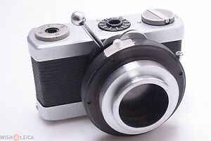 Zeiss werra mikroskop kamera mit perfect working shutter adapter ebay