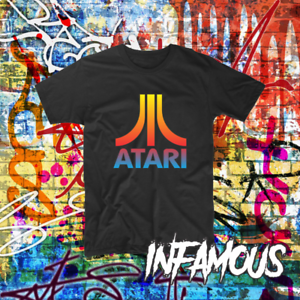 Atari-Shirt-PC-Gaming-Console-Retro-Tee-Custom-Gamer-Nerd-Smart