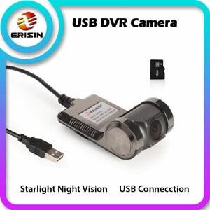 Wasserdicht 120°DashCam USB Kamera DVR Recorder 720P Für Android Autoradio 9/10