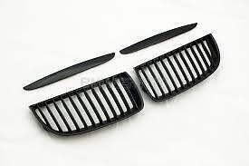 OEM-BMW-E90-3-SERIES-PRE-LCI-BLACK-PERFORMANCE-KIDNEY-GRILLS