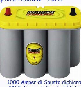 Batteria-optima-yellow-75ah-975-Amper-Di-Spunto-Dichiarato-1460-Amper-Di-Spunto