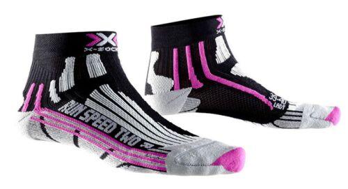 X-Socks Women Speed Two - Laufsocken - Kurzsocken - fuxia - X20436-b048