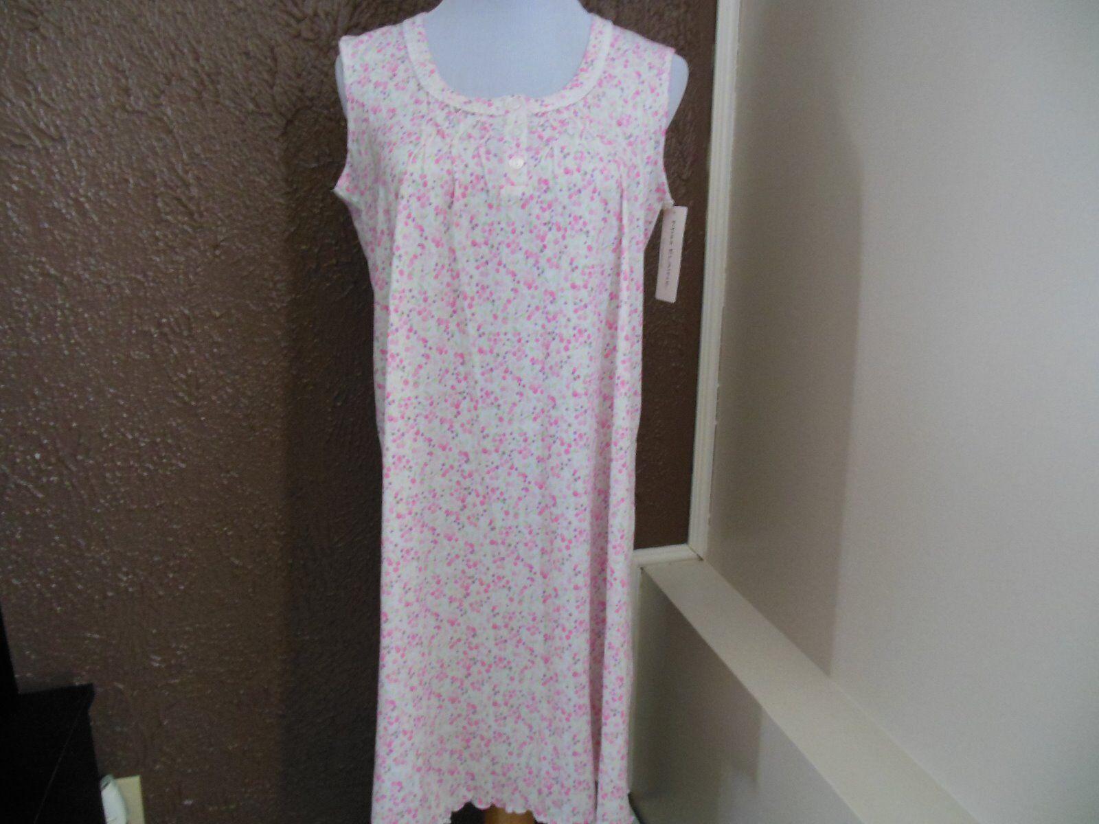NWT Miss Elaine Sleeveless Short Gown sz s