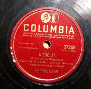 JIVE-BLUES-R-amp-B-78-THREE-FLAMES-Open-the-Door-Richard-TIGER-HAYNES-Nicholas
