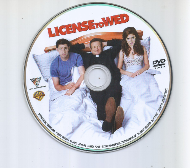 License To Wed [DVD] Used In Paper Sleeve