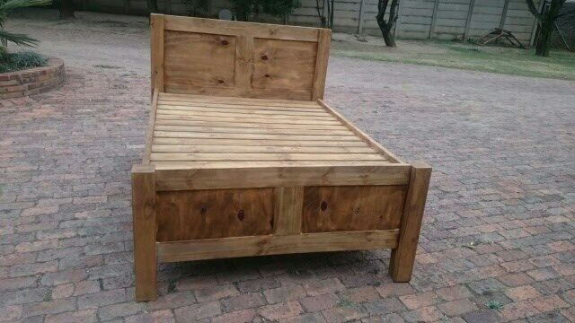 Wooden Beds For Sale Johannesburg South Gumtree Classifieds South Africa 264590937