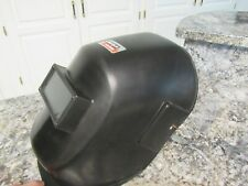 Vintage Electric Welding Mask Helmet Headband Lens