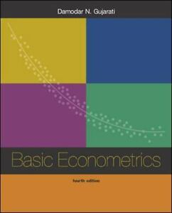 Basic econometrics by damodar n gujarati 2001 hardcover ebay basic econometrics by gujarati damodar n fandeluxe Gallery