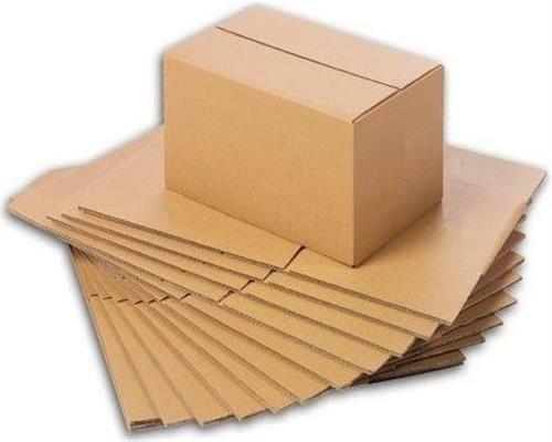 50x Ingbertson Versandkartons 190 x 110 x 85 mm Faltkartons Pappkartons Kartons
