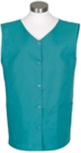 New Fame Fabrics Jade K76 Ladies Sleeveless Smock XS - 5XL High Quality