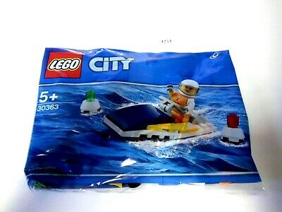 LEGO 30363 City RACE BOAT  34 PIECES NEW SEALED POLYBAG