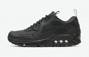 Nike-Air-Max-90-Surplus-Black-Multi-Size-US-Mens-Athletic-Running-Shoes-Sneakers