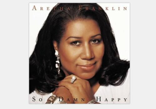 Z-203 Aretha Franklin So Damm Happy Hot Music Silk Poster 16x16 24x24