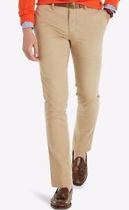488a38f03d9e52 Ralph Lauren Polo Men's Granary Tan Cotton Slim Fit Bedford Chino ...