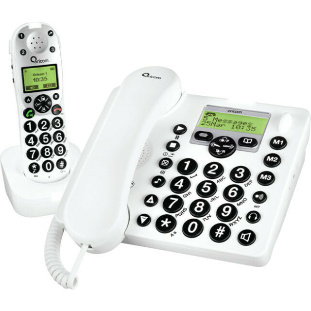 PRO910-1 ORICOM Amplified Phone Combo With Answering Machine