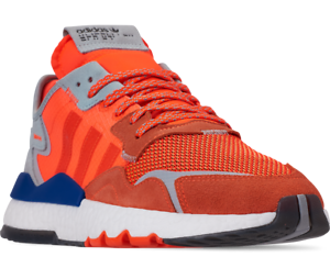 ADIDAS-Nite-Jogger-GOKU-Men-Sz-10-44-Orange-Solar-Blue-Run-Sneaker-Shoes-G26313
