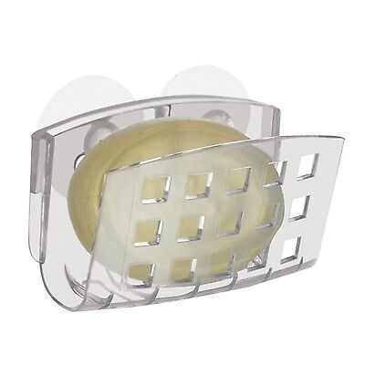 Interdesign Suction Soap Cradle Soap Dish Clear
