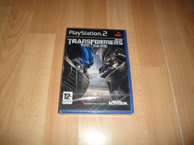 TRANSFORMERS THE GAME DE TT GAMES - ACTIVISION PARA LA SONY PS2 NUEVO PRECINTADO
