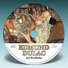 EDMUND DULAC - Over 300 Illustrations on DVD! * Golden Age Fairy Tale Art