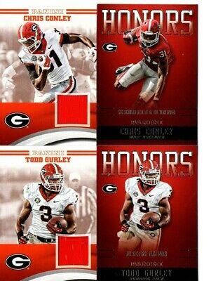 Panini University of Georgia Bulldogs relic jersey Chris Conley Jaguars | eBay