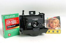 Polaroid EE100 Special Fujifilm FP-100C 3 x Flash Cubes Starter kit! Traveling!